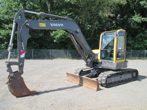 2013 Volvo ECR88 Hydraulic Excavator