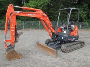 2012 Kubota U35 Mini Excavator