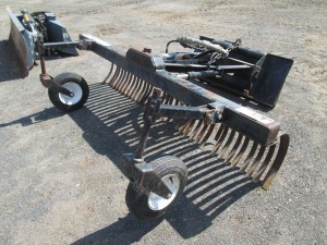 "Bobcat 92"" York Rake Attachment"