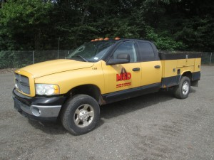 2003 Dodge Ram 3500 Utility Body Truck