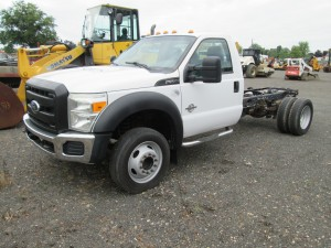 2012 Ford F-550 XL Cab and Chassis