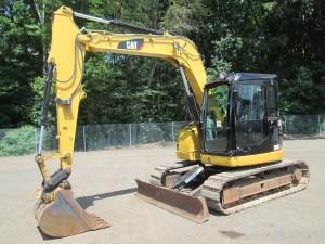 2010 Caterpillar 308D CR Hydraulic Excavator