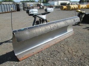 9' Fisher Minute Mount 2 Power Angle Snow Plow