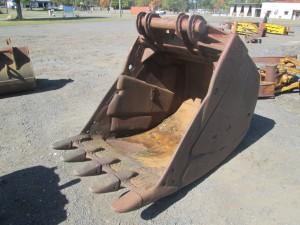 """48"""" Excavator Bucket With Teeth"""