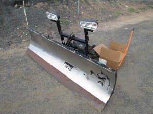 Snow Dogg 7.5' Stainless Steel Snow Plow