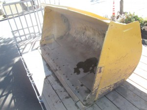 "Caterpillar 107"" GP Bucket With BOCE"