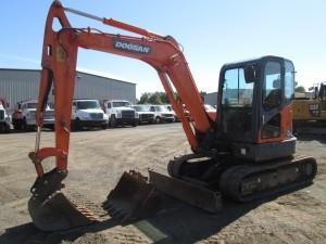 2012 Doosan DX60R Mini Excavator