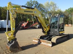 2017 Yanmar ViO80-1A Hydraulic Excavator