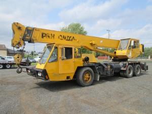 1986 P&H Omega T-250 Truck Crane