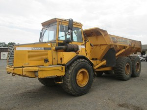 1997 Volvo A25C Articulated Haul Truck