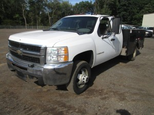 2008 Chevrolet 3500 Extended Cab Utility Truck