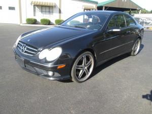 2007 Mercedes Benz CLK550 2 Door Coupe