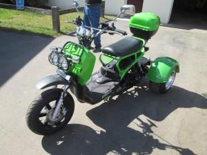 2015 Ice Bear 3 Wheel Moped