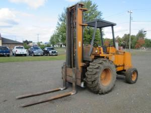 Case 586E Rough Terrain Forklift