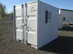 9' Sea Container With Side Door and Window