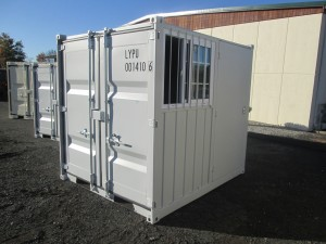 8' Sea Container With Side Door and Window