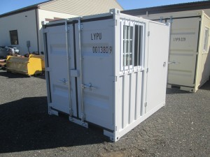 7' Sea Container With Side Door and Window