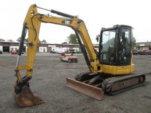 2011 Caterpillar 305DCR Mini Excavator