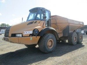 2007 Case 330B Articulated Haul Truck