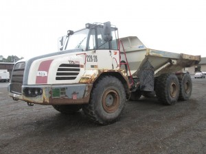 2007 Terex TA25 Articulated Haul Truck