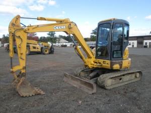 2000 John Deere 50ZTS Mini Excavator