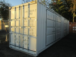 40' Sea Container With Side Doors