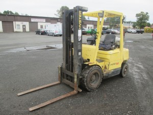 Hyster H50XM Pneumatic Tire Forklift