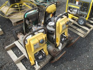 (4) Wacker Neuson Rammer Compactor