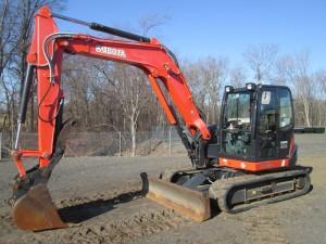 2015 Kubota KX080-4 Midi Excavator