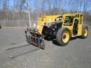 2011 Caterpillar TL642 Telescopic Forklift