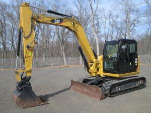 2016 Caterpillar 308E2 CR Midi Excavator