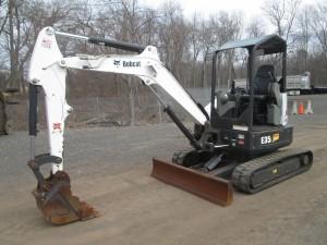 2015 Bobcat E35i Mini Excavator