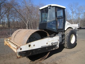 2003 Ingersoll Rand SD-100 DTF Smooth Drum Roller