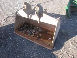 """Kubota 48"""" Excavator Bucket With BOCE"""