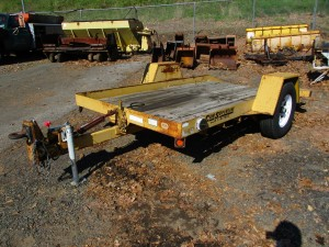 2003 Cam Superline 12' Tilt Deck Trailer