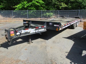 2011 Eager Beaver 10HA-PT Tag Trailer