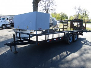 2010 Big Tex 18' Landscape Trailer
