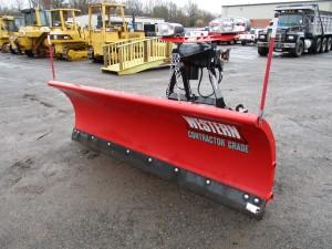 Western Pro Plus 8.5' Power Angle Snow Plow