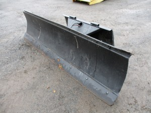 8' Power Angle Snow Plow With BOCE