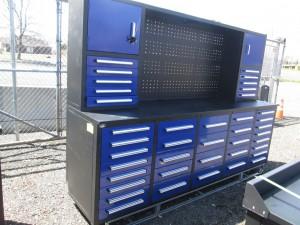 """112"""" Steel Workbench Cabinet"""