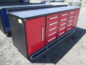 """113"""" Steel Workbench Cabinet"""
