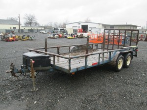 1996 Big Tex 16' Utility Trailer