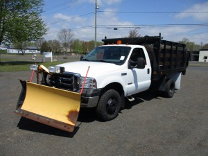 2005 Ford F-350 XLT Rack Body Dump Truck
