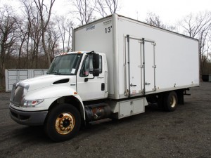 2009 International 4400 Document Shredder Truck