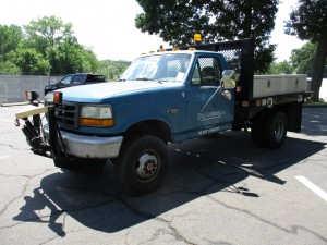1992 Ford F-350 Flatbed Truck