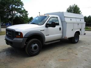 2005 Ford F-450 XL Service Truck