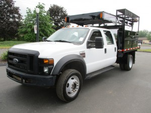 2008 Ford F-550 XL Crew Cab Flatbed