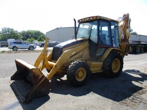 2002 Caterpillar 420D Loader Backhoe