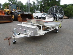 2000 Rivercraft 14' Aluminum Air Boat