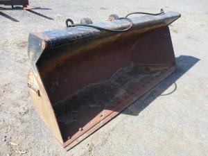 """Hewitt 108"""" Side Dump Bucket With BOCE"""